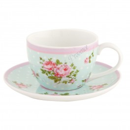 Cup and saucer 0.2 L