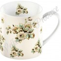 Porcelánový hrnek Cream Cottage Flower MG2466